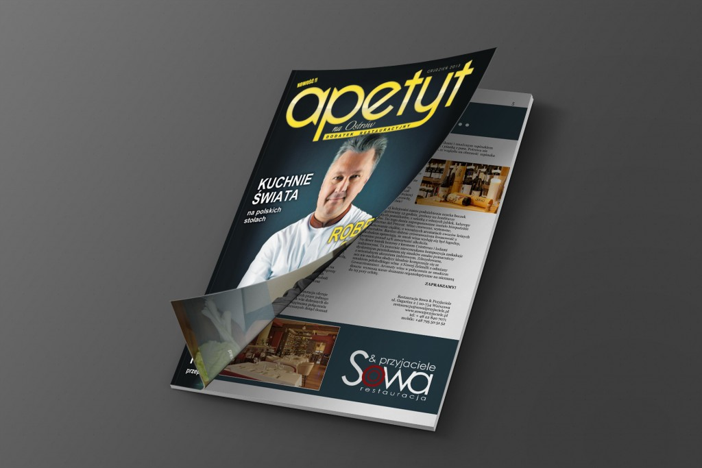Magazine Mockup Cover Opening - freebie - originalmockups.com